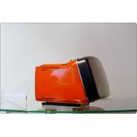 Brionvega Algol 11, Made in Italy 1964, Design M. Zanuso, R. Sapper - Arancione