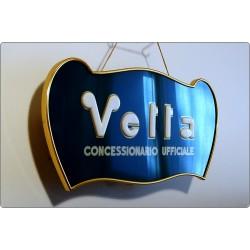 Insegna Luminosa WYLER VETTA, Made in Italy 1950