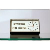 Orologio da Tavolo R. DESSOMVILLE, Portescap - Swiss Made 1950