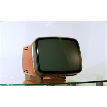 Brionvega Algol 11, Design Zanuso / Sapper, Italy 1964 - RED