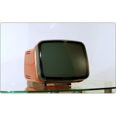 Brionvega Algol 11, Design Zanuso, Sapper, Italy 1964 - ROSSO