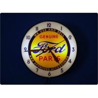 Wall clock FORD, Prod. PAM Clock Brooklyn, Made in U.S.A. 1950