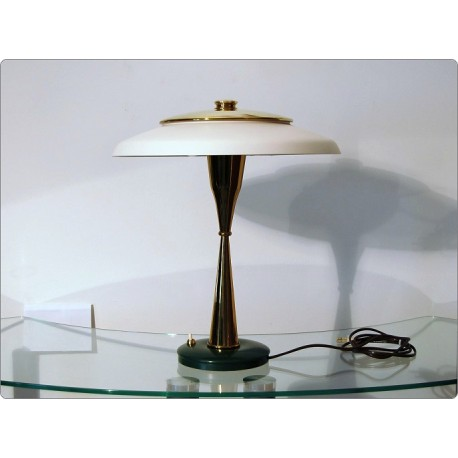 Lampada da tavolo lumi design oscar torlasco italy 1959 for Lumi da tavolo ikea
