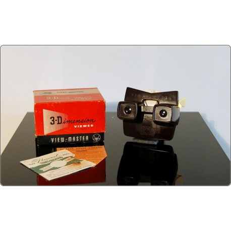 Reel Viewer Stereoscope View-Master Model E, Prod. Sawyer's 1940 - Bakelite