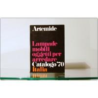 Catalogo ARTEMIDE 1970 - Lampade, Mobili, Oggetti per Arredare