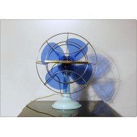 Table Fan Westinghouse, 1 Speed Oscillating, Made in U.S.A. 1960