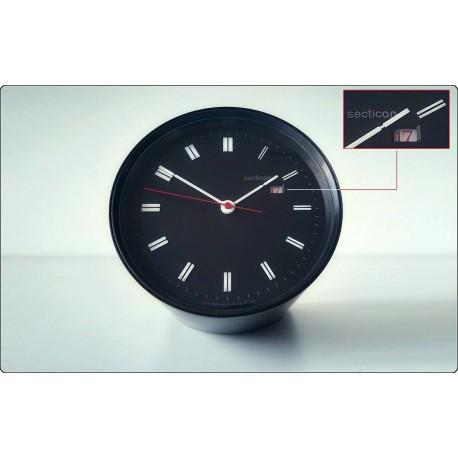 Table Clock SECTICON Mod. T 11, Design A. Mangiarotti, Swiss Made 1956 - ALARM