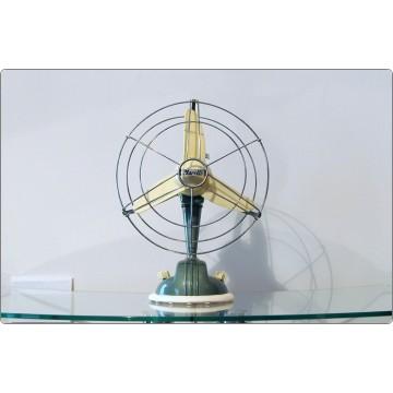 Ventilatore da Tavolo Ercole Marelli Mod. O / 254, Italy 1950 - Verde