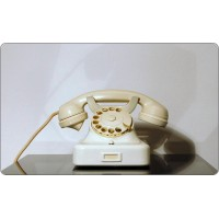 Telefono da Tavolo SIEMENS Mod. W 48, Made in Italy 1948, Bachelite