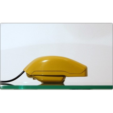 Desk Phone Prod. SIEMENS Mod. GRILLO - Zanuso / Sapper 1967 - Dark Yellow Color