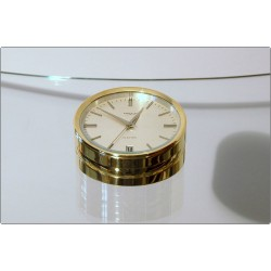PREXIM Table Clock - Swiss Made 1950 - Calendar