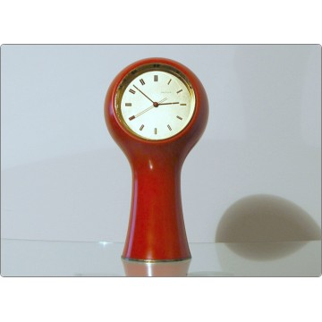 Table Clock SECTICON Mod. T1, Design A. Mangiarotti, Swiss Made 1956 - RED