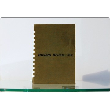 OLIVETTI Divisumma 14 - Instruction, Use and Maintenance manual