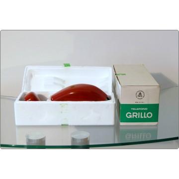 Telefono da Tavolo SIEMENS Mod. GRILLO - Design M. Zanuso R. Sapper 1967 - NUOVO in Box