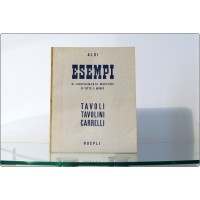 ESEMPI di Arredamento moderno di tutto il mondo - TAVOLI TAVOLINI CARRELLI - HOEPLI 1950