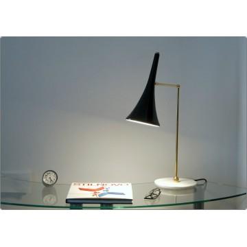 Lampada da Tavolo Art. TL-066 - Ottone / Marmo - NERO