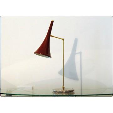 Lampada da Tavolo Art. TL-068 - Ottone / Marmo - PORPORA