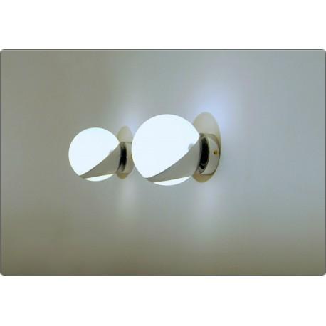 Wall Lamp GLASS SPHERE Art. A-025 - CHROMED Brass