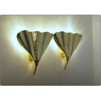 Wall Lamp Art. A-018 LEAF - BRASS - LIMITED Edition