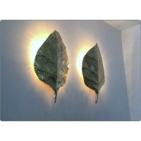 Wall Lamp Art. A-017 LEAF - BRASS - LIMITED Edition