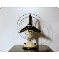 Table Fan Ercole Marelli Mod. O / 254, Made in Italy 1950
