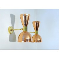 Wall Lamp Art. A-045 - COPPER / BRASS - Deyroo Lighting
