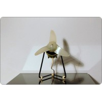 Table Fan Ercole Marelli, Mod. CRICKET, Made in Italy 1958