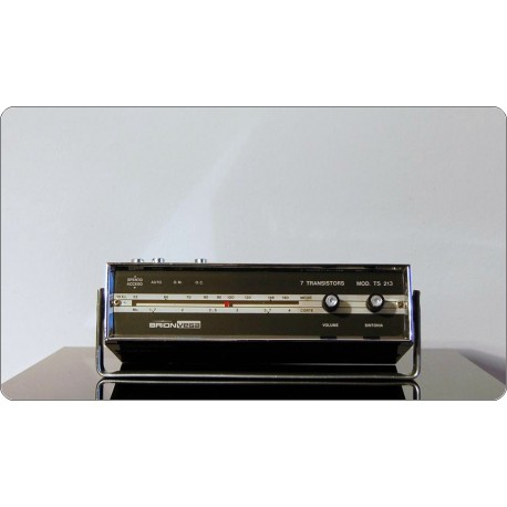 Radio Brionvega Mod. TS 213, Design R. Bonetto, Made in Italy 1963