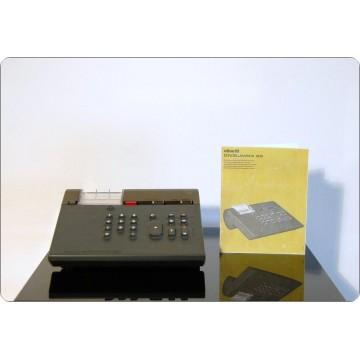 Calcolatrice Olivetti Mod. DIVISUMMA 28, Design M. Bellini, Italy 1973